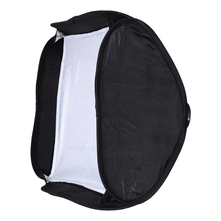 NICEFOTO EF-80x80 Mini Quick Set up Softbox Softbox Soft Box with Bowens Mount Perfect for Photographers Often Change Places quick set up softbox 80x80cm soft box with bowens mount perfect for strobe flash