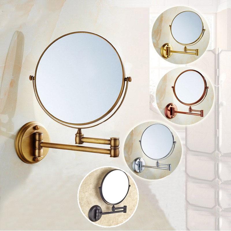 8 Inch Bath Mirror 3X Magnification Wall Mounted ...