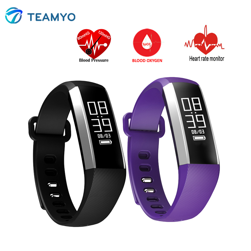 Smart Wristbands M2 Heart Rate Blood Pressure Oxygen Oximeter Tracker Sport Smar