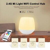 Mi işık 2.4g kablosuz wifi led şerit lamba ampul rgb renk uzaktan kontrolör iphone ios android sistemi için