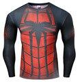 2017 Новый Сжатия Рубашки Мужчины 3D Печатные Футболки С Длинным Рукавом Смешно Косплей Фитнес Бодибилдинг Мужчины Crossfit Топы