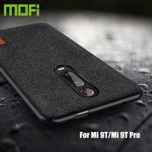Для Xiaomi mi 9T Pro Чехол защитный тканевый силиконовый чехол для задней панели capas MOFi global mi 9T деловой чехол