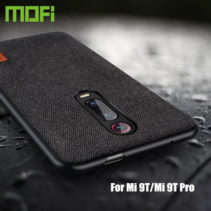for Xiaomi Mi 9T Pro case cover protective fabric cloth silicone back capas MOFi original global Innrech Market.com
