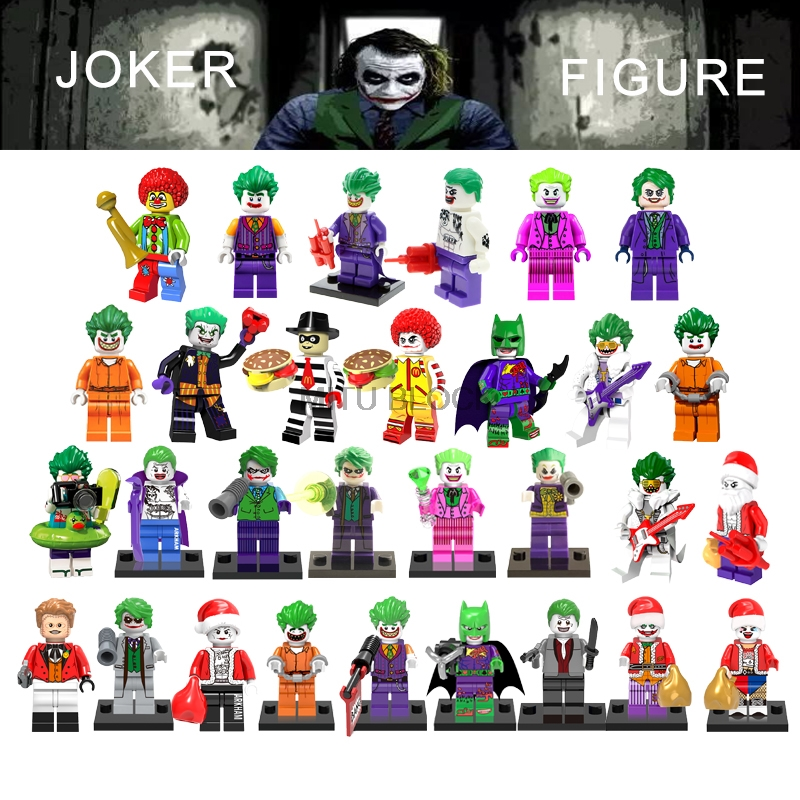 Building-Blocks Movie-Figures Barbara Gotham Gordon Suicide Squad Marvel Quinn The Joker title=
