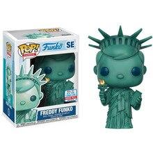 Pop Freddy statua wolności figurka Model postaci z Anime kolekcja pcv zabawki dla dzieci prezenty