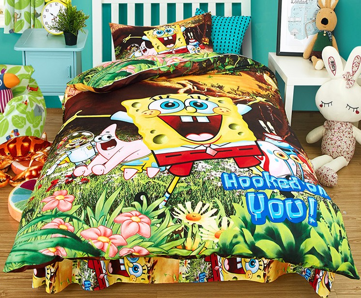 Kids Bedding Sets - Childrens Characters Single Bed Quilt ...