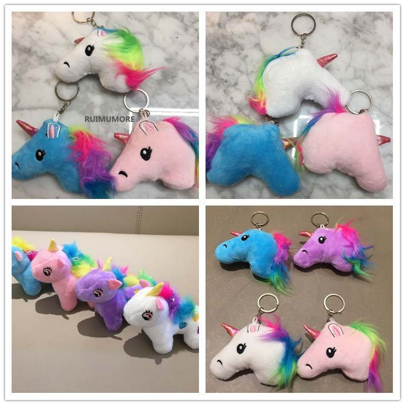ALL Designs - Horse Plush Toy ,7CM-14CM Stuffed Animal Key chain Toy , Kid's Party Gift Plush Toy Doll