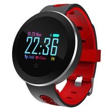 цена на Q8pro Smart Wristband Fitness Tracker IP68 Waterproof Smart Bracelet Blood Pressure Watch Pedometer Calories Mileage for Sport