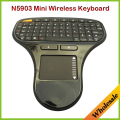 2.4 GHz RF Wireless Multimedia Keyboard N5903 Touch Pad Aire Flying Ratón Teclado Teclado para TV Box/Android MINI PC