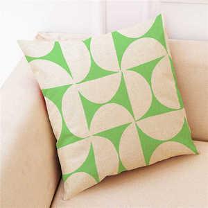 Image 4 - Renkli desen yastık kılıfı kapak süper yumuşak kumaş ev yastık basit geometrik atmak yatak yastık kılıfı yastık kapakları