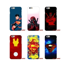 SuperMan Iron Man Deadpool For Samsung Galaxy A3 A5 A7 J1 J2 J3 J5 J7 2015 2016 2017 Accessories Phone Cases Covers