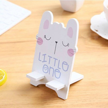 1 PC Mobile Phone Holder Cartoon Mini Portable Fixed Home Supplies Remote Control Bracket holder