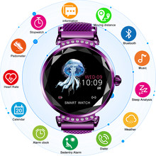 CHENXI H2 Smart Watch Women 2019 New Smart Fitness Bracelet Women Blood Pressure Heart Rate Monitoring Bluetooth For Android IOS(China)