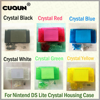 10Sets/Lot OEM Full Housing Case For Nintend DS Lite Console Shell Case Large in Stock