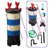 Odyssea toptan akvaryum fish tank aquaric pet dış kapak filtresi cfs1200 ile 55 w uv lamba 9 w 2600l/h