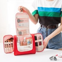 Multi-function Travel Wash Bag large capacity cosmetic bag waterproof portable travel storage bag 19*23*10cm недорого