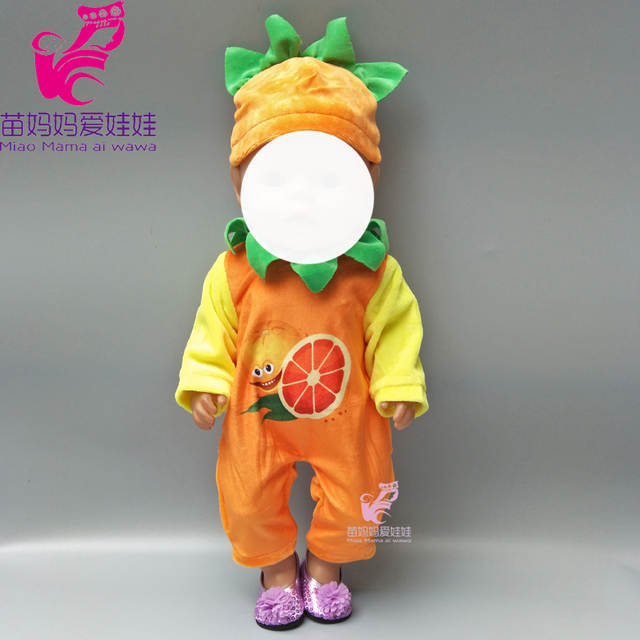 32c6a39bca872 US $1.61 17% OFF|baby doll outfit fruit set for 18 doll party clothes set  for doll boy dress up-in Dolls Accessories from Toys & Hobbies on ...