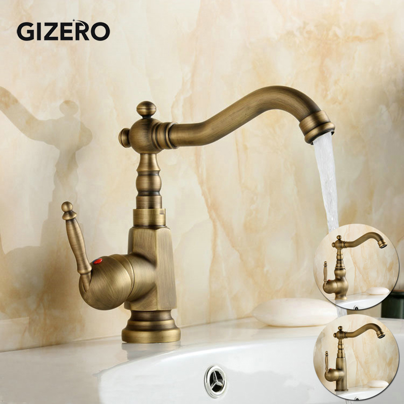 Basin Mixer hot and cold Faucet 360 Degree Rotation Spout Basin Sink Mixer Tap torneira ZR102