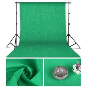 Image 4 - 1.6 متر x 2 متر/3 متر/4 متر التصوير استوديو الصور خلفية بسيطة خلفية غير المنسوجة بلون شاشة خضراء Chromakey 10 لون القماش