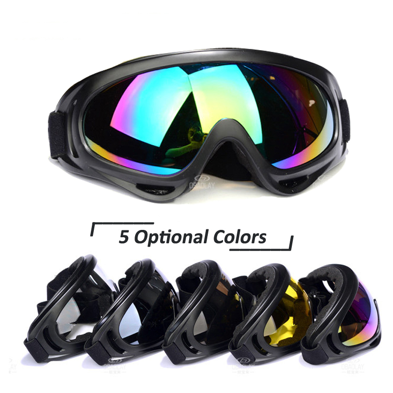 Military Goggles UV Protection Winter Sports Snowboard Ski Skate Goggles Outdoor Skiing Eyewear Motorcycle Glasses Colorful Lens