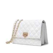 Classic design plaid shoulder bag for women small fragrance retro black and white famous band handbag fashion elegant party bags