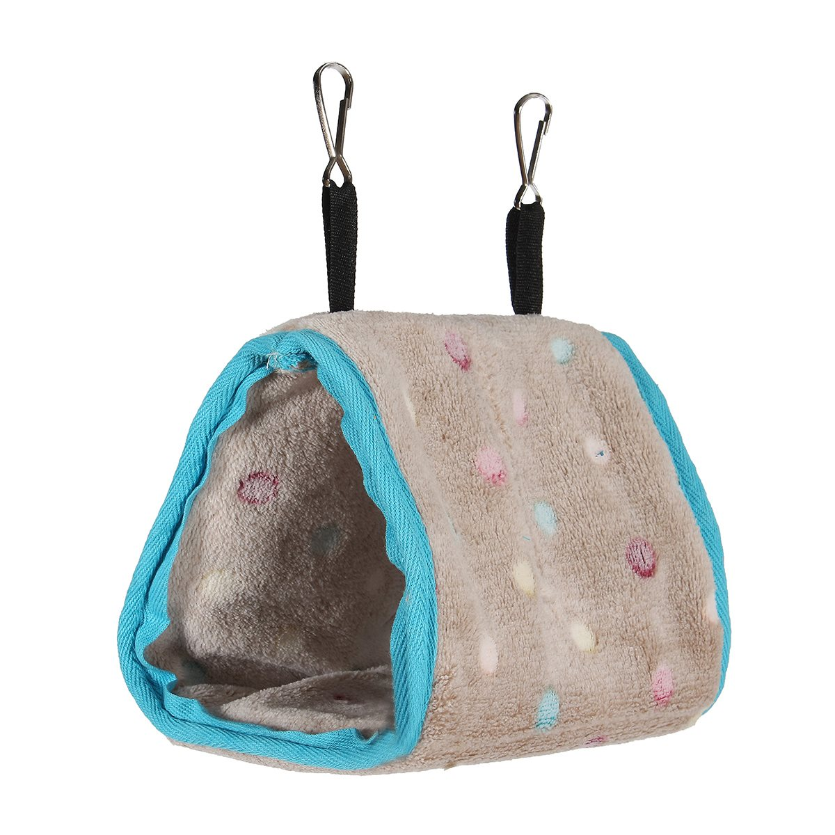 Hanging bed nest - Bird Bed Hanging House Bed Hammock Hanging Cave Cage Plush Snuggle Happy Hut Tent Winter Warm Hut Nest Cave