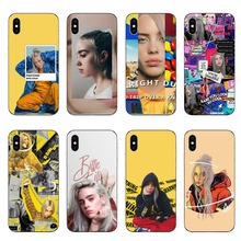 Lovely Billie Eilish Khalid Soft TPU Phone Cases Cover For iPhone 5 5S SE 6 6S Plus 7 7Plus 8 X 10 Silicone Case Coque