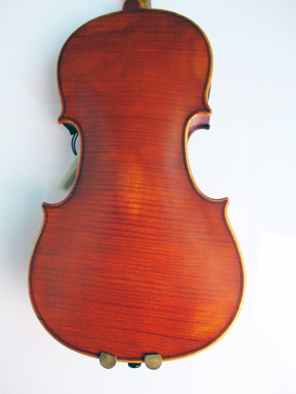 Top Grade Handmade 4/4 Chinese Solid Violin Powerful Sound Spruce Front Maple Back and Side Sent With Rosin Bow Case