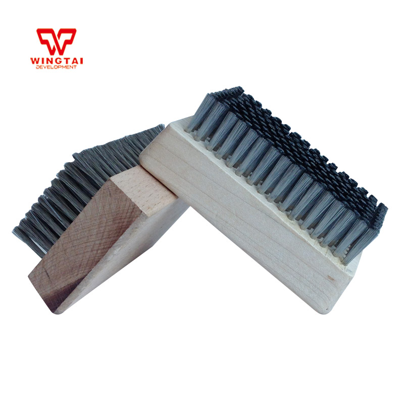 Stainless Steel Wire Diameter 0.127mm Anilox Roller Brush,Cleaning Brush,Printing Machine Tools L108 * W64 * H20mm