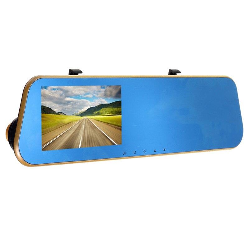 Car DVR Dash Cam F1C Rear View Mirror Camera Backup Video Recorder G-sensor 1080P Dual Lens