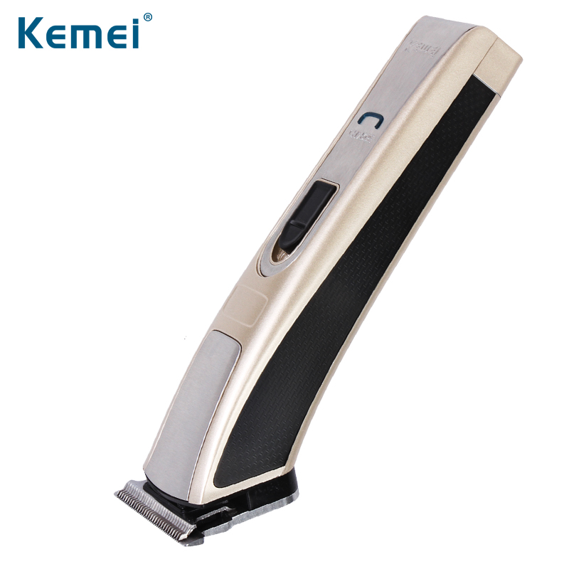 Kemei High-Power Electric Man Baby Hair Clipper Trimmer Rechargeable Shaver Razor Cordless Adjustable Clipper kemei km 9801 ceramic cutter rechargeable electric hair clipper trimmer razor cordless adjustable clipper haircut free shipping
