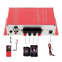 DC12V 5A 85db передача hi-fi Авто Цифровой стерео Усилители домашние Поддержка CD/DVD/MP3 Вход для автомобиля/ мотоцикл