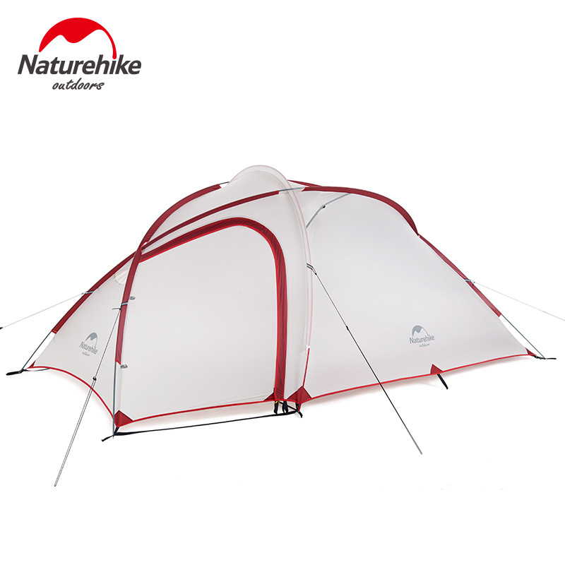 Naturehike Outdoor 2-4 person field family camping mountaineering rain-proof double-decker tent One-bed one living room tentNaturehike Outdoor 2-4 person field family camping mountaineering rain-proof double-decker tent One-bed one living room tent