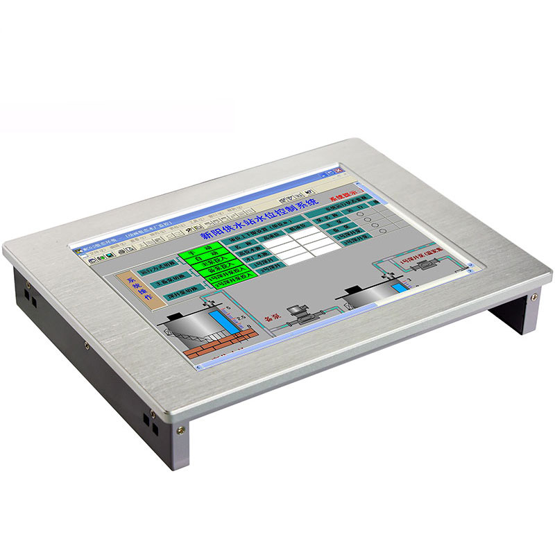 12.1 Inch Fanless Industrial Panel PC With Resistance Touch Screen Table Pc