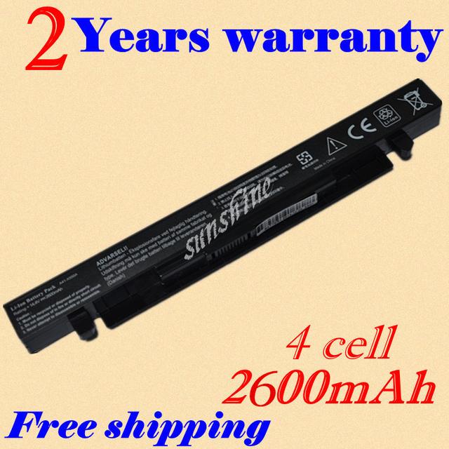 Jigu batería del ordenador portátil para asus a41-x550 a41-x550a x550 x550c x550b x550v x550d x450c x452 4 celular