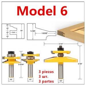 Image 5 - Porta dellarmadio Rail Stile Fresa Carbid Lavorazione Del Legno Router Bit Strumento di Legno Piano di Puzzle Coltelli Pannello Raiser Colla Comune