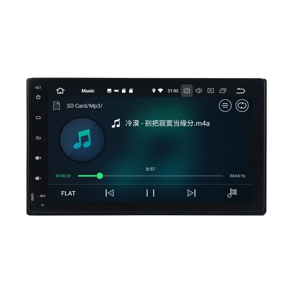 2 din 9 Android 8.0 Car Audio DVD Radio GPS for Toyota Fortuner 2016 2017 4GB RAM Bluetooth WIFI USB Mirror link 32GB ROM