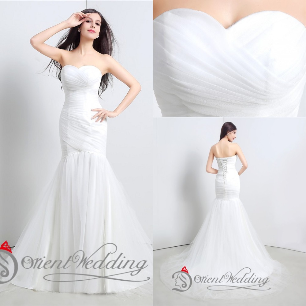 Sexy country western style vintage china mermaid wedding for Wedding dress western style