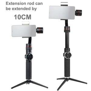 Image 2 - אפי V5 מייצב עבור טלפון Gimbal Selfie מקלות 3 ציר חכם כף מייצב נייד טלפון עבור Iphone X 8 7 סמסונג