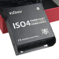 VITOOS IS04 High Quality Guitar Effects Power Supply 4PCS DC Cables 1 Pc Y Cable 1
