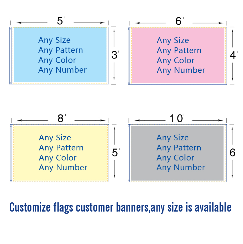 custom flag any size company advertisement flags and banners 3x5 FT,4-6 FT, 5-8 FT,free shipping