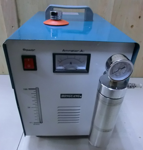 flame gun acrylic polishing machine
