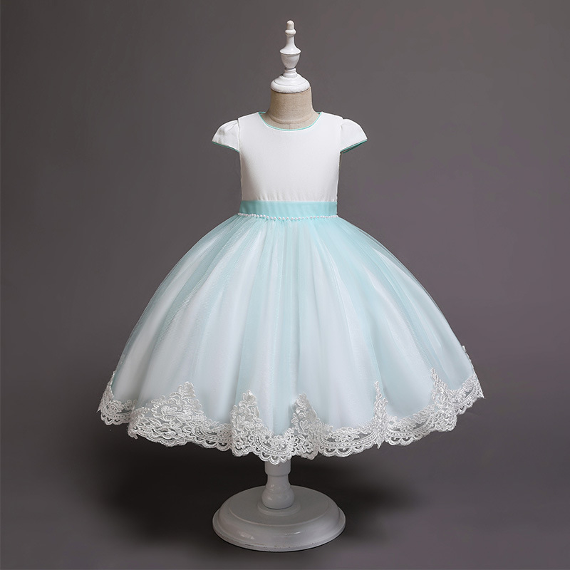 Dress Girl Promotion Silk Vestidos Mujer Roupas Infantis Menina New Children's Princess In Summer Of Carters Girls'dress Clothes