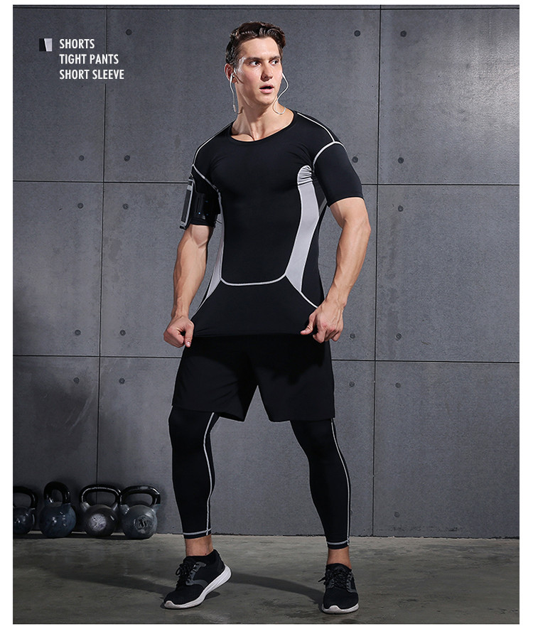 Tracksuit Fitness Tights Gym Clothing
