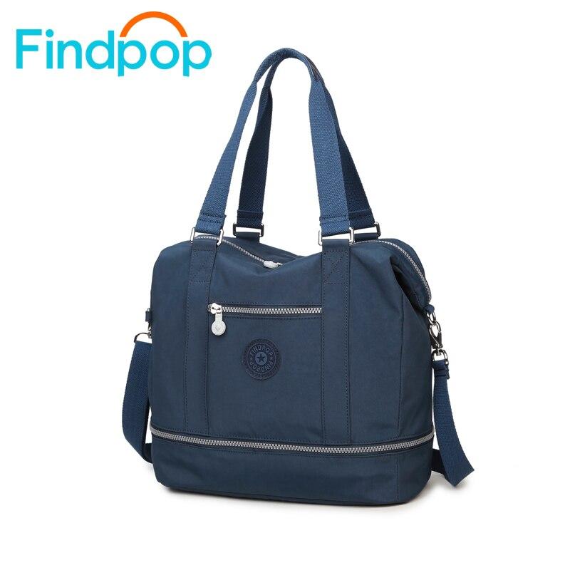 Findpop Handbags Women Shoulder Bags For Girls Women Bags 2017 New Nylon Waterproof  Casual Travel Handbags Women Messenger Bags