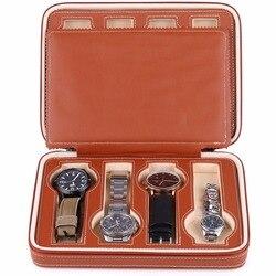 8 Grids Watch Organizer Box Storage Bag for Watch Travel Organizers Storage Case