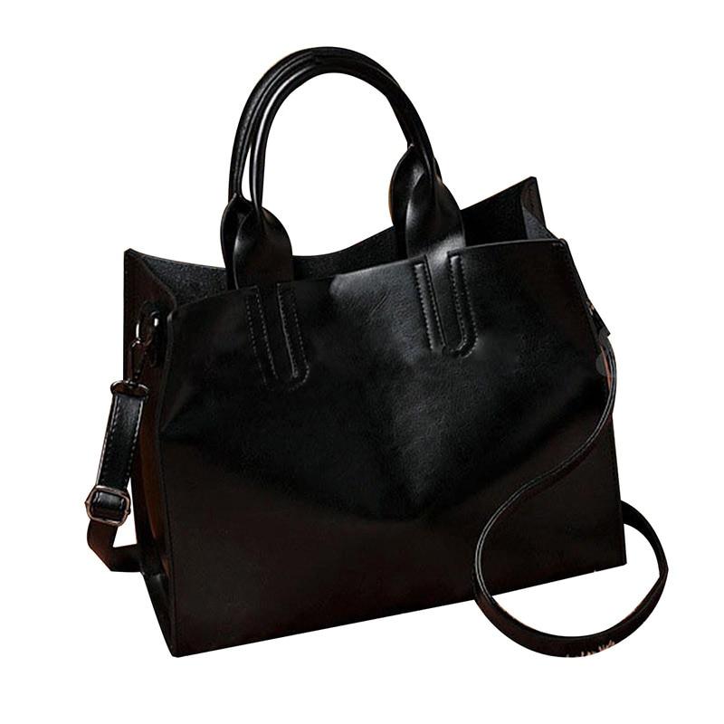 5 pcs of Women Leather Handbag Messenger Lady Shoulder Crossbody Bag Tote Satchel thinkthendo women girl lady skull rivet shoulder bag handbag crossbody satchel tote purse