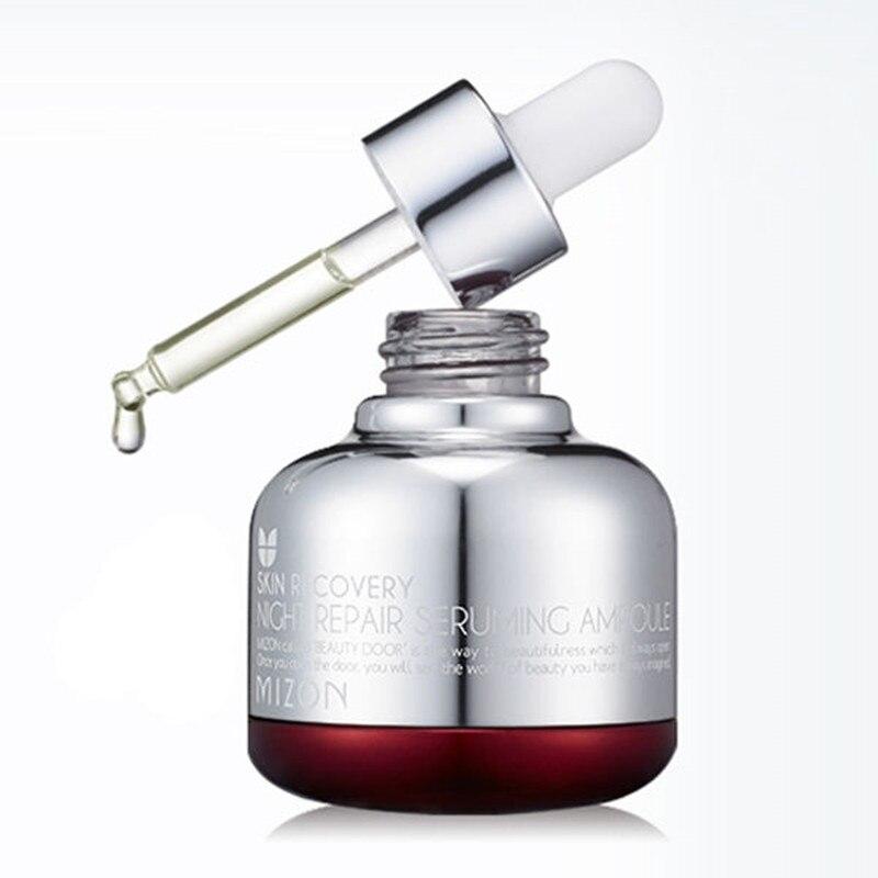 MIZON Night Repair Seruming Ampoule 30ml High Quality Luxury Facial Cream Serum Skin Care Anti aging Face Lifting Firming