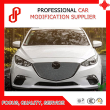 купить High quality Stainless steel modification car front grille racing grills grill cover for Mazda 3 Axela 2013 2014 2015 2016 2017 дешево