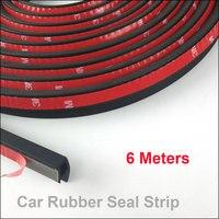 4Meter Pcs Lot P Type Car Sound Insulation Seal Sealing Rubber Strip Sealing Noise Weather Rubber